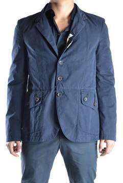 Galliano Men's Blue Cotton Blazer.