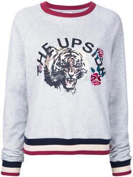 The Upside tiger print sweatshirt