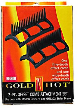 Gold 'N Hot Styler Dryer Two Piece Comb Set