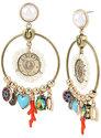 Lucky Charms Gypsy Hoop Earrings