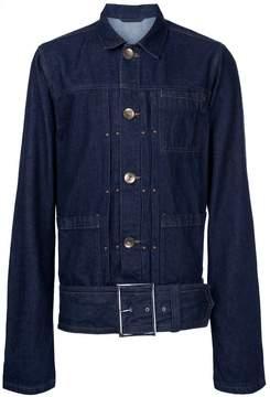 Miharayasuhiro belted denim jacket