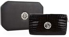 Stefano Ricci Dragon Embossed Crocodile Leather Wallet