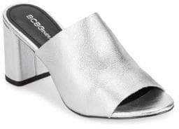 BCBGeneration Leather Slip-On Sandals