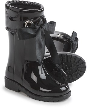 Igor Campera Charol Black Rain Boots - Waterproof (For Little and Big Girls)