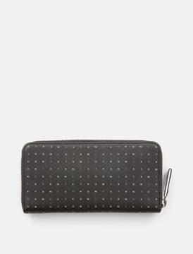 Calvin Klein leather logo zip-around wallet