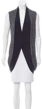 CNC Costume National Layered Silk-Blend Vest