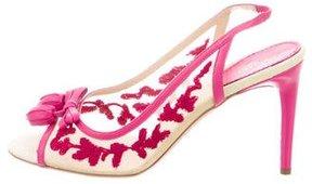Missoni Mesh Slingback Sandals