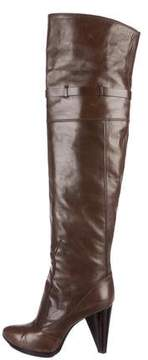 CNC Costume National Thigh-High Leather Boots