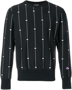 Champion all over logo sweatshirt