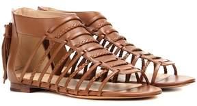Polo Ralph Lauren Jadine leather gladiator sandals