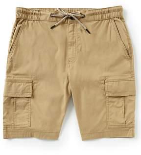 Daniel Cremieux Jeans Solid Elastic Cargo Shorts