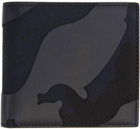 Valentino Blue Garavani Camo Wallet