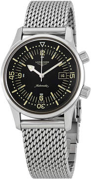 Longines Legend Diver Automatic Black Dial Men's Watch
