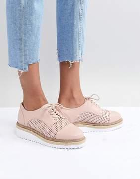 Carvela Eva Rope Lace Up Flat Shoe