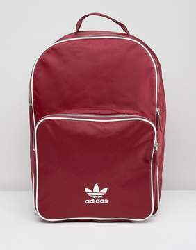 adidas adicolor Backpack In Burgundy CW0627