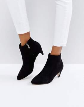 New Look Kitten Heel Suedette Ankle Boot