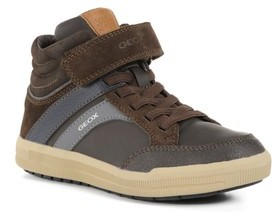 Geox Toddler Boy's Arzach Mid Top Sneaker