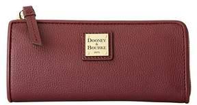 Dooney & Bourke Belvedere Leather Zip Clutch