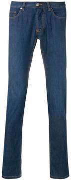 Brioni slim fit low rise jeans