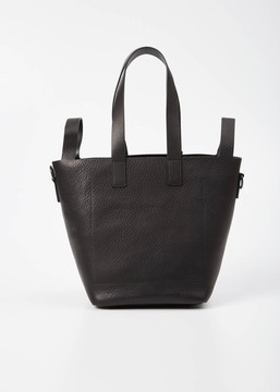 Marsell black cubetto handbag