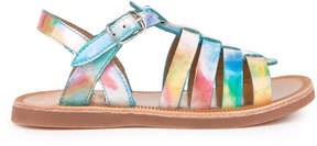 Pom D'Api Patent leather sandals Plagette Strap