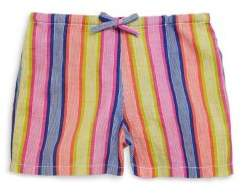 Roberta Roller Rabbit Toddler's, Little Girl's & Girl's Raya Border Cotton Shorts
