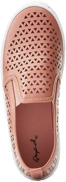 Charlotte Russe Qupid Laser Cut Slip On Sneakers