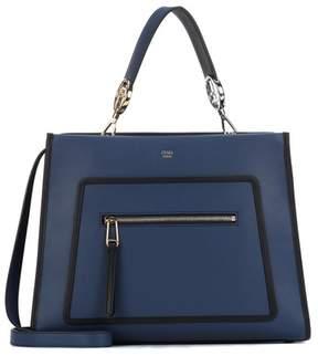 Fendi Runaway leather shoulder bag