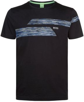 BOSS GREEN Logo Stripe Short Sleeve T-Shirt