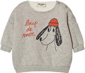 Bobo Choses Grey Loup de Mer Sweatshirt