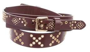 Rebecca Minkoff Grommet Leather Belt w/ Tags