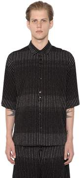 Damir Doma Sol 3d Printed Cotton Shirt