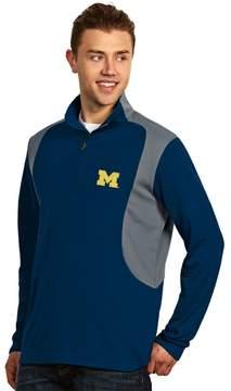 Antigua Men's Michigan Wolverines Delta 1/4-Zip Pullover