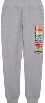 Moschino Cotton logo joggers 4-14 years