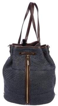 Elizabeth and James Woven Cynnie Drawstring Backpack