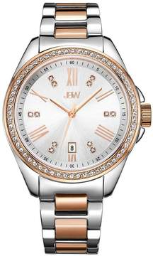 JBW Capri Silver Dial Two Tone Diamond Ladies Watch