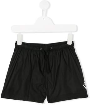 Marcelo Burlon County of Milan Kids logo print swim shorts