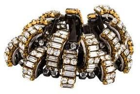 Erickson Beamon Staggered Crystal Bette Davis Eyes Bracelet