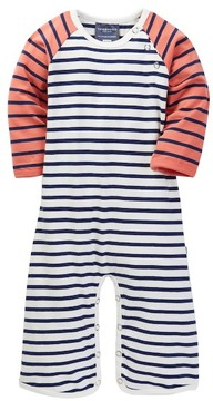 Toobydoo Elliot Striped Jumpsuit (Baby Boys)