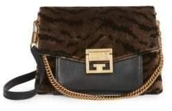 Givenchy Small Velvet Tiger GV3 Shoulder Bag