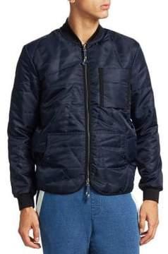 Madison Supply Zip-Up Bomber Jacket