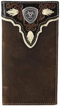 Ariat Shield Ivory Rodeo Wallet Wallet