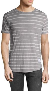 Kinetix Men's Bangkok Striped Crewneck T-Shirt