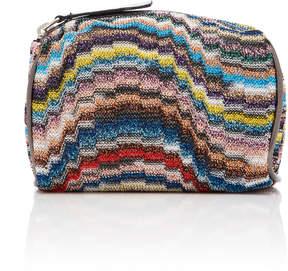 Missoni Toiletry Mini Crochet-Knit Bag