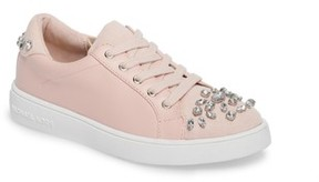 MICHAEL Michael Kors Girl's Ivy League Crystal Embellished Sneaker