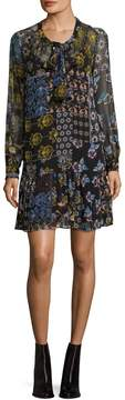 Donna Morgan Women's Ochre Printed Dress