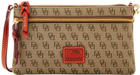 Dooney & Bourke Mini Signature Tech Top Zip Pouch
