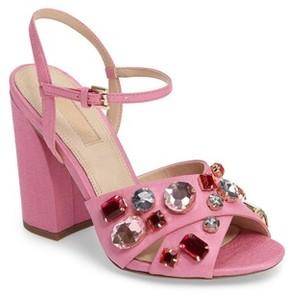 Topshop Women's Rubies Crystal Embellished Sandal