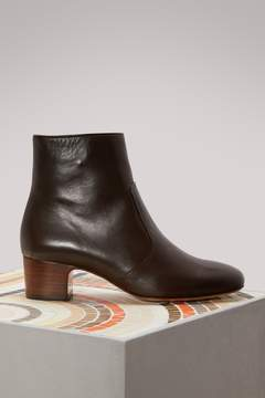 A.P.C. Leather Joey boots