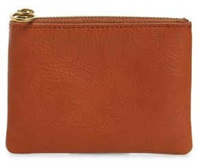 Madewell The Leather Pouch Wallet - Brown